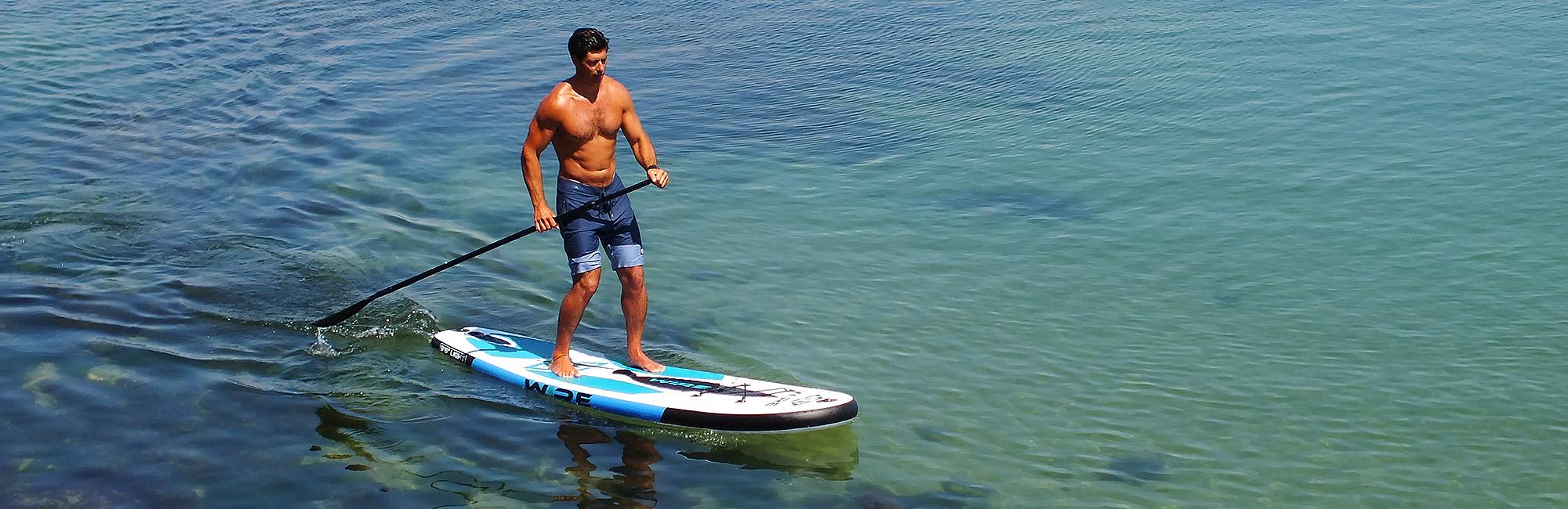 Des paddles gonflables légers et stables